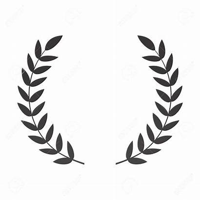 Laurel Wreath Clipart Vector Leaves Branch Laureate