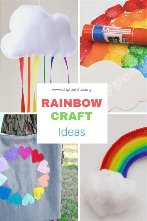 rainbow craft ideas skip   lou