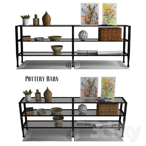 3d Models Other Decorative Objects  Pottery Barn Tanner
