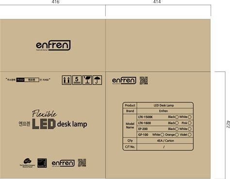 Desk Lamp Designs by Led Amp Fluorescent Desk Lamp Gf 100