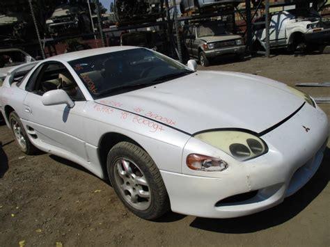 Mitsubishi 3000gt Parts by 1998 Mitsubishi 3000gt White 3 0l At 163783 Mitsubishi