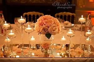 Deco Mariage Romantique : decoration mariage romantique mariage ~ Nature-et-papiers.com Idées de Décoration