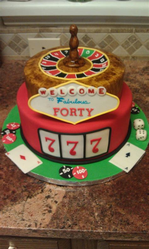 Vegas Themed 40th Birthday Cake Cakecentral