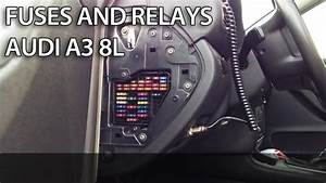 Where Are Fuses And Relays In  Audi  A3 8l  Fuse Box