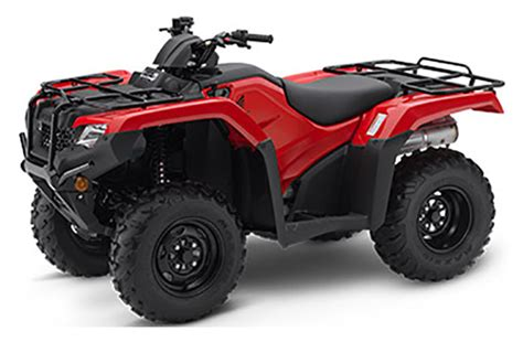 New 2019 Honda Fourtrax Rancher 4x4 Atvs For Sale In