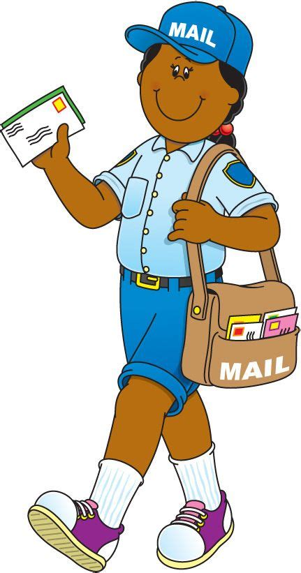 Community Helpers Clipart Community Helper Mail Carrier School Learning Community