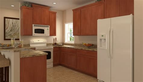 Lennar Kitchen With White Appliances In Briar Oaks (tampa