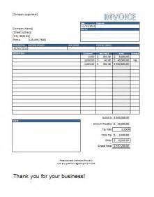 Free Excel Template Excel In Templates Included Free Invoice Template Excel