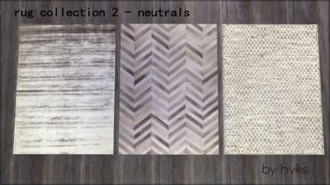 rug collection   copper tiles  hvikis sims  updates