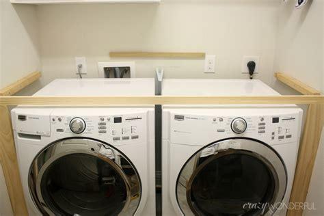 Diy Built In Washer + Dryer  Crazy Wonderful