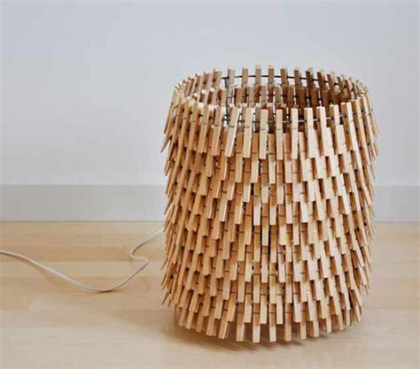 Lamp Shade Wire Frames by 30 Art And Craft Ideas To Use Wooden Clothespins For Home