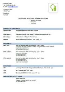 Technicien Bureau D étude Batiment by Petits Conseils Pour Concevoir Un Cv De Technicien En