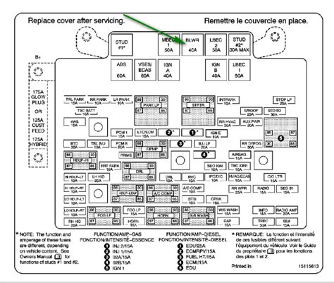 similiar chevy fuse box diagram keywords 2006 chevy silverado fuse box diagram