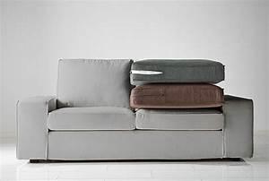 Coussin D Assise Pour Canapé : housse de canap s fauteuils et m ridiennes ikea ~ Teatrodelosmanantiales.com Idées de Décoration