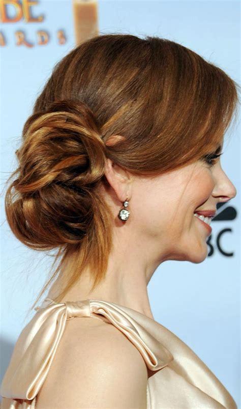 hair side bun styles 50 bun hairstyles easy ways to look fabulous 8388