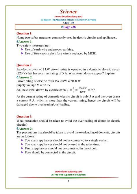 ncert solutions for class 10 science chapter 13 in pdf online