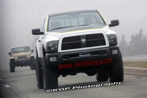 Ford Raptor Competitor by Ram Power Wagon Aka Ford Raptor Competitor Spotted Ign