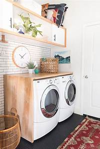 10 ideas for laundry room wall decor With kitchen cabinet trends 2018 combined with art prints to hang on your wall