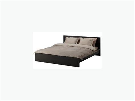 Ikea King Size Bed by Ikea Malm King Size Bed Frame Mattress Nepean Ottawa