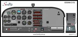 Cessna 172 Instrument Panel Diagram