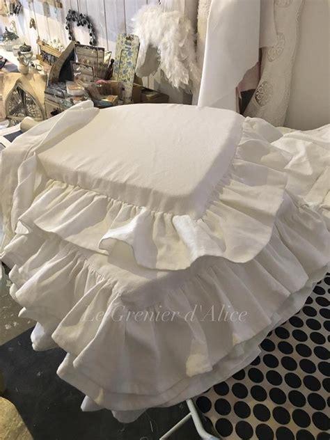 galette de chaise sur mesure le grenier d 39 shabby chic et romantique decor