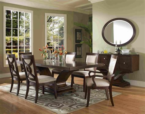 dining room furniture sets formal dining room sets for 8 homesfeed