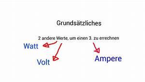 Amper Berechnen : video watt umrechnen in ampere so klappt 39 s ~ Themetempest.com Abrechnung