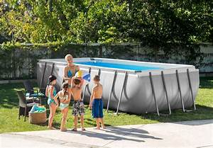 ultra frame rectangulaire intex piscineco With piscine autoportee rectangulaire intex 18 piscine naturelle restonica
