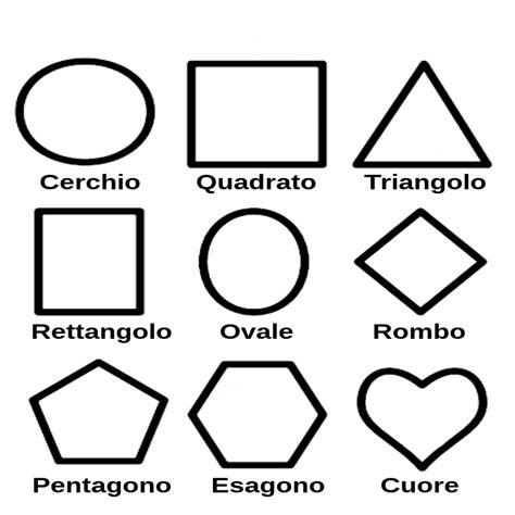 figure da colorare le forme geometriche da colorare