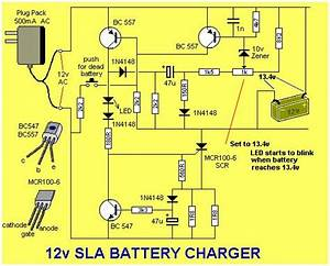Solar Charge Controller Circuit Diagram