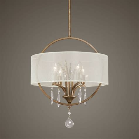 And Gold Chandelier by Transitional Antique Gold 4 Light Fixture