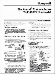 Honeywell Y460a2003 Installation Manual