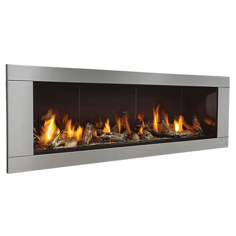 Ventless Gas Fireplace Lowes Shop Real Flame 50 75 In Gel