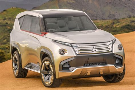 2018 Mitsubishi Montero Review And Specs  Release Date