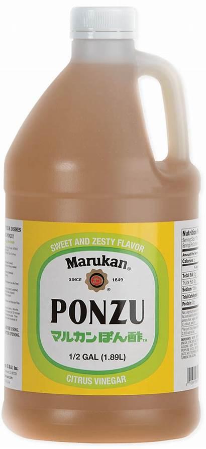 Ponzu Citrus Dressing Marukan Marinade Sudachi Ingredients