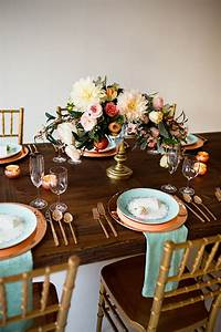 Eclectic Mint And Rose Gold Wedding Ideas With Minted