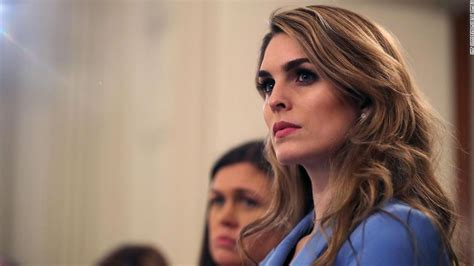 Hope Hicks expected to return to White House | CNN ...