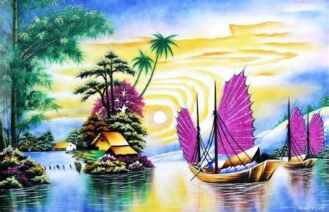 Phong Thủy Khi Vẽ Tranh Tường Phòng Khách