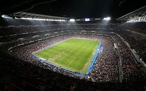 Santiago Bernabeu Stadium  Soccer  Real Madrid  Spain