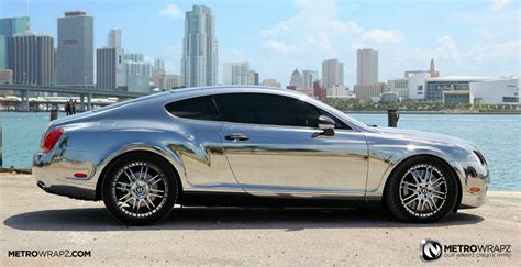 Chrome Bentley By Metro Wrapz