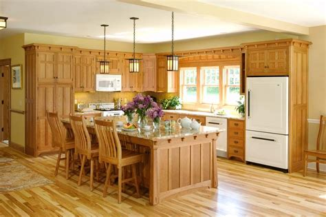 cherry cabinets kitchen pictures arts crafts crown point cabinetry craftsman kitchens 5368