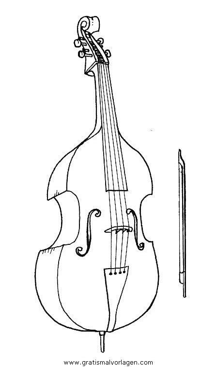 violoncello gratis malvorlage  diverse malvorlagen