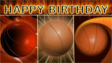 basketball birthday card compilation youtube