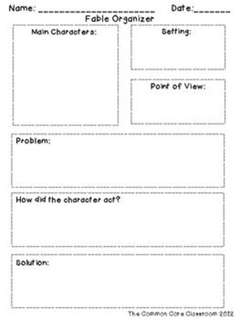 fable organizer rl 2 2 recount determine moral of story 2nd grade reading literature