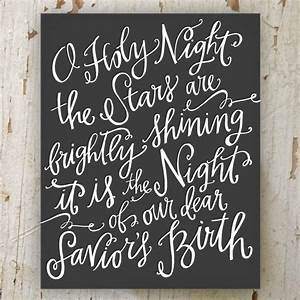 17 best images about calligraphy lettering words on With o holy night lettering
