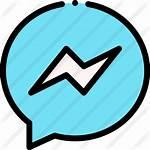 Icon Icons Messenger App Freepik Neon Iphone