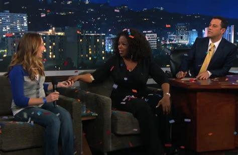 Oprah Gives Cars by Typisch Oprah Quot You Get A Car Quot Autofans