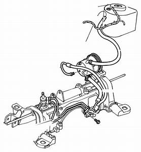 Chrysler Town  U0026 Country Hose  Power Steering Pressure  Rack  Fwd  Engine