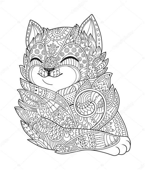 Volwassen Kleurplaat Dieren by Kleurplaten Voor Volwassenen Katten Archidev Kleurplaat
