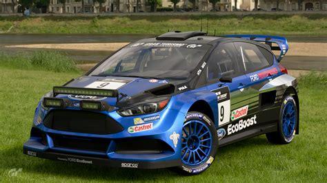 Ford Focus Gr.b Rally Car